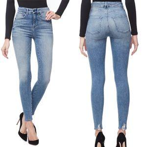 Good American Good Waist High-Rise Skinny Jeans 26